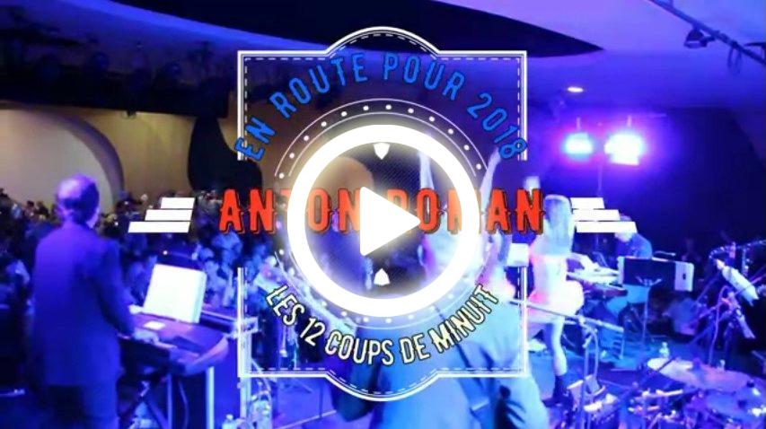 En route pour 2018 avec l'Orchestre Anton Roman